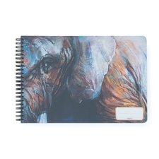 Skicák A4 tw,50 listů, 220g slon