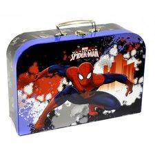 """Karton P+P Kufřík dětský papírový """"35"""" (laminovaný) - SPIDERMAN"""