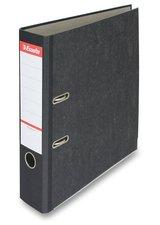 Esselte Mramor- papírový pákový pořadač 75mm - černý