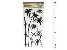 Samolepící dekorace 545 59x32 černá - bambus