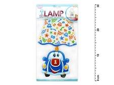Samolepící dekorace 887909 svítící LED lampička auto