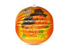 Lampión Halloween - veselé dýně, 25 cm