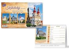 Kalendář 2018 stolní Katolický