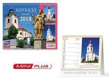 Kalendář 2018 stolní mini Katolický