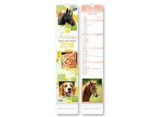 Kalendář 2018 vázankový Zvířata