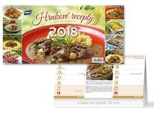 Kalendář 2018 stolní Hrnkové recepty (čtrnáctidenní)