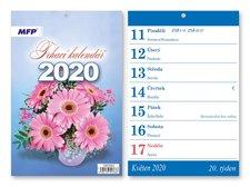Kalendář 2020 A5 Trhací