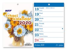 Kalendář 2020 A6 Trhací