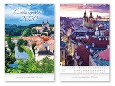 Kalendář 2020 nástěnný Česká republika