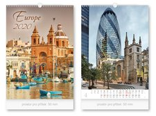 Kalendář 2020 nástěnný Europe