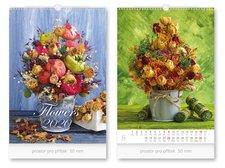 Kalendář 2020 nástěnný Flowers