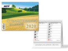 Kalendář 2020 stolní Čtrnáctidenní