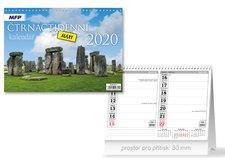 Kalendář 2020 stolní Čtrnáctidenní MAXI