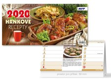 Kalendář 2020 stolní Hrnkové recepty (čtrnáctidenní)