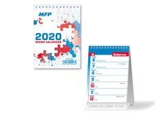 Kalendář 2020 stolní Mikro