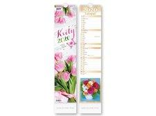 Kalendář 2020 vázankový Květy