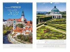 MFP Kalendář 2021 nástěnný Památky UNESCO ČR