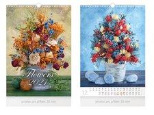 MFP Kalendář 2021 nástěnný Flowers