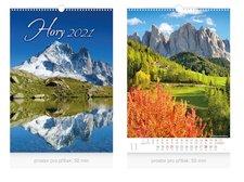 MFP Kalendář 2021 nástěnný Hory