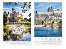 MFP Kalendář 2021 nástěnný Hrady a zámky