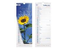 MFP Kalendář 2021 nástěnný Měsíční - vázankový