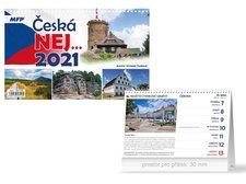 MFP Kalendář 2021 stolní Česká NEJ…