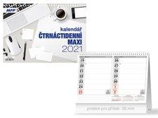 MFP Kalendář 2021 stolní Čtrnáctidenní MAXI