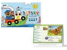 MFP Kalendář 2021 stolní Dětský