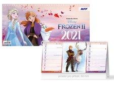 MFP Kalendář 2021 stolní DISNEY Frozen (čtrnáctidenní)