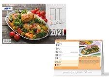 MFP Kalendář 2021 stolní FIT kuchařka