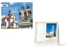 MFP Kalendář 2021 stolní mini Katolický