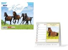 MFP Kalendář 2021 stolní mini Koně