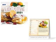 MFP Kalendář 2021 stolní mini Sladké potěšení