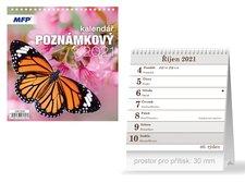 MFP Kalendář 2021 stolní Poznámkový