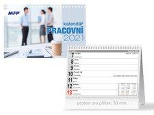 MFP Kalendář 2021 stolní Pracovní