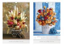 MFP Kalendář 2022 nástěnný Flowers