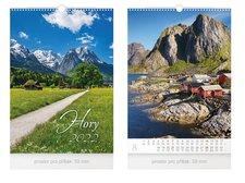 MFP Kalendář 2022 nástěnný Hory