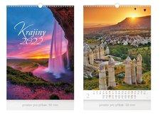 MFP Kalendář 2022 nástěnný Krajiny