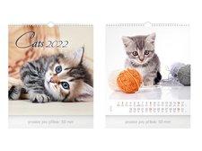 MFP Kalendář 2022 nástěnný malý Cats