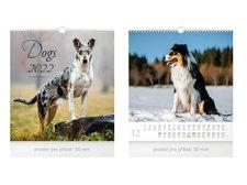 MFP Kalendář 2022 nástěnný malý Dogs