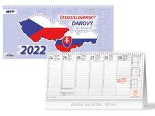 MFP Kalendář 2022 stolní Česko/slovenský