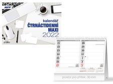 MFP Kalendář 2022 stolní Čtrnáctidenní MAXI