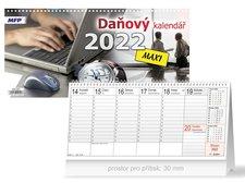 MFP Kalendář 2022 stolní Daňový MAXI