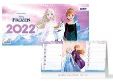 MFP Kalendář 2022 stolní DISNEY Frozen (čtrnáctidenní)