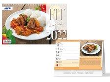 MFP Kalendář 2022 stolní FIT kuchařka