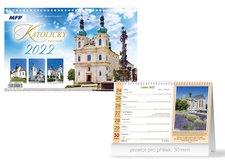 MFP Kalendář 2022 stolní Katolický