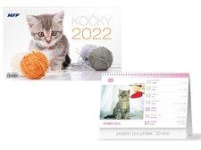 MFP Kalendář 2022 stolní Kočky