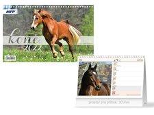 MFP Kalendář 2022 stolní Koně