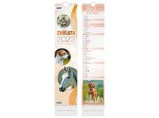 MFP Kalendář 2022 vázankový Zvířata