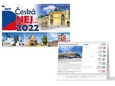 MFP Kalendář 2022 stolní Česká NEJ…